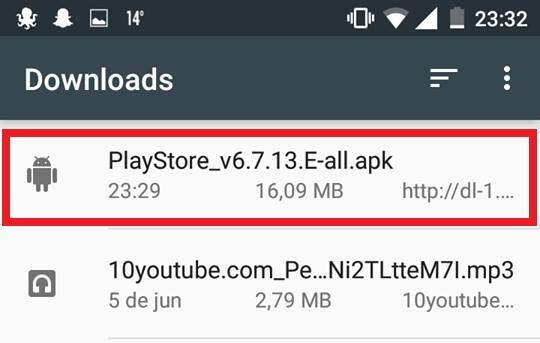 Baixar Play Store para Android