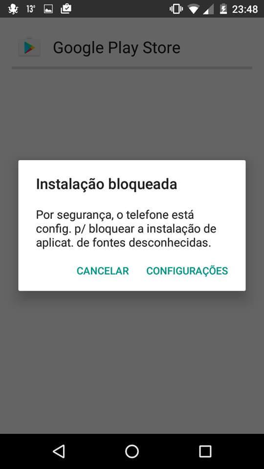 Como baixar Google Play Store para smartphones Android