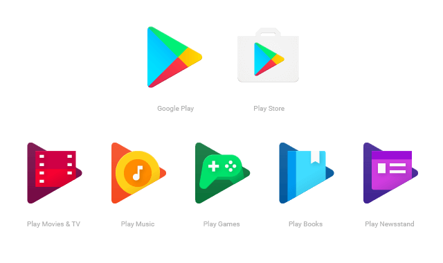 google-play-icones