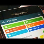 Baixar Play Store em BlackBerry